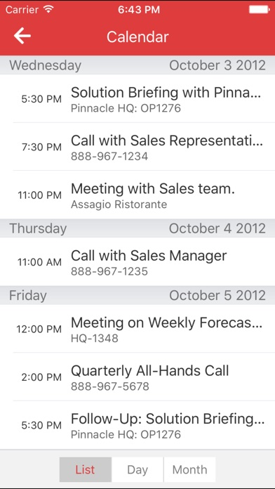 Oracle Sales Cloud Mobile - AppRecs