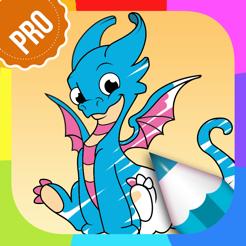 Ejderha Boyama Oyunları Pro çocuk Boyama Kitabı Hayvan Boyama