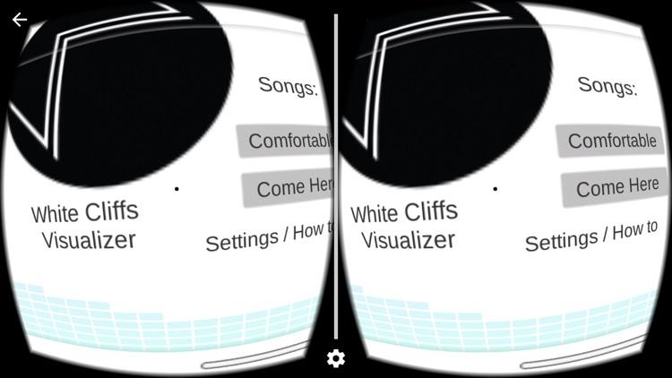 White Cliffs VR Music Visualizer