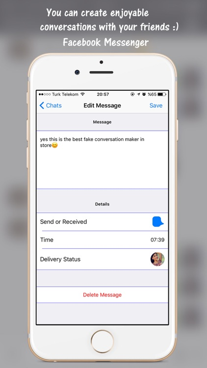 Prank Messages for Popular Social Chats