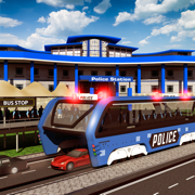 警察高架巴士模拟器3D:监狱运输 Prisoner Transport Bus 2016 Game