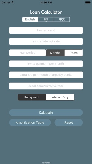 loan calculator kh on the app store
