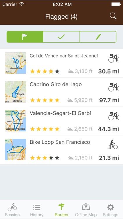 Runtastic Mountain Bike PRO screenshot-4
