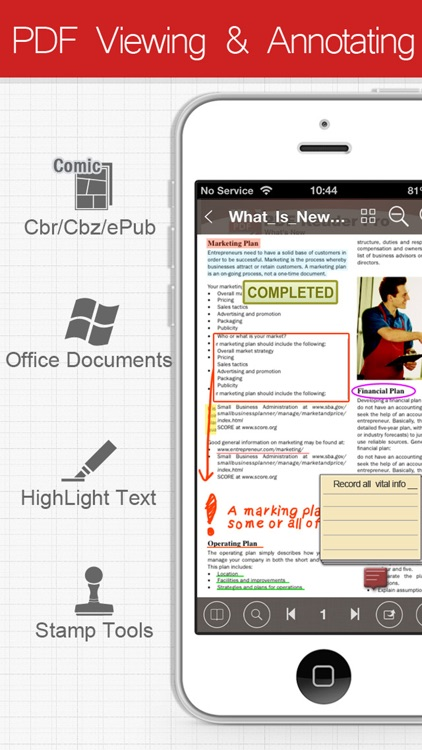 PDF Connect Free - View, Annotate & Convert PDFs screenshot-4
