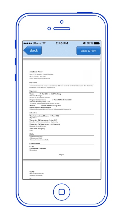 Resume Manager - Resume Writing App for Job Search screenshot-4
