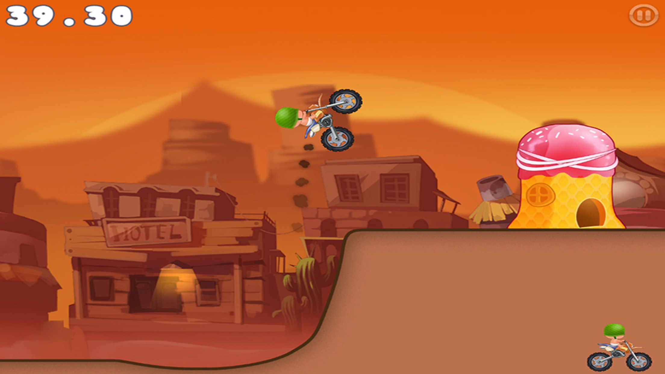 Super Hero Car Climb Racing Screenshot