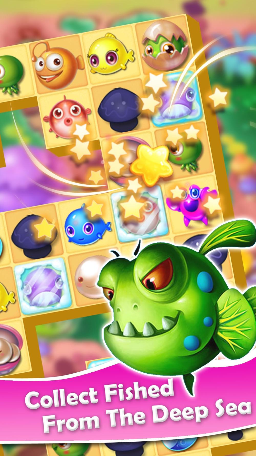 Fish Blast – Best Ocean Crush Match 3 Mania Game