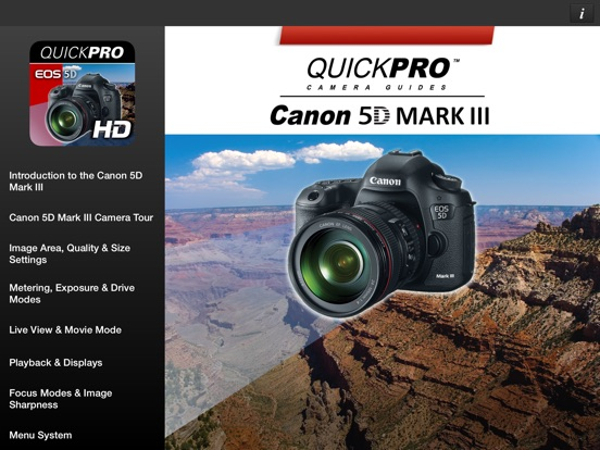 Screenshot 1 For Canon 5D Mark III From QuickPro HD