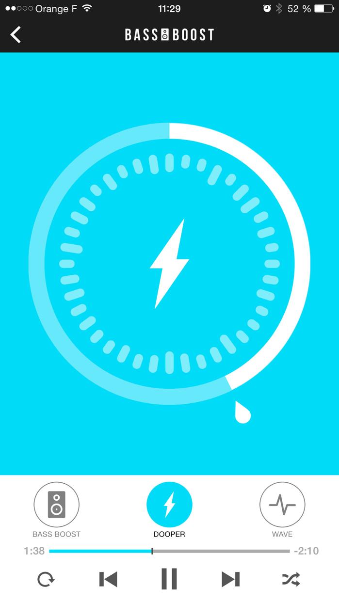 Bass Booster - Volume Power Amp and mp3 Music Play Screenshot