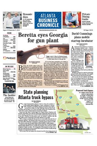 Screenshot of Atlanta Business Chronicle