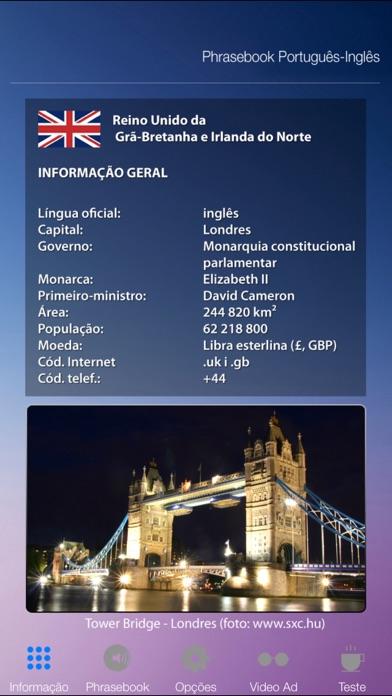 Aprender Inglês Áudio Curso Vocabulário Gramática screenshot one