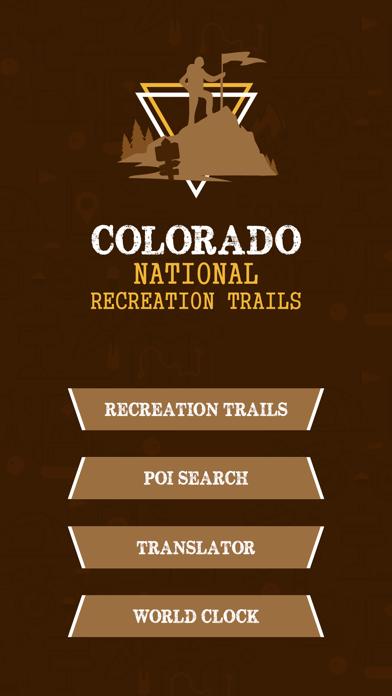 Colorado Trails screenshot two