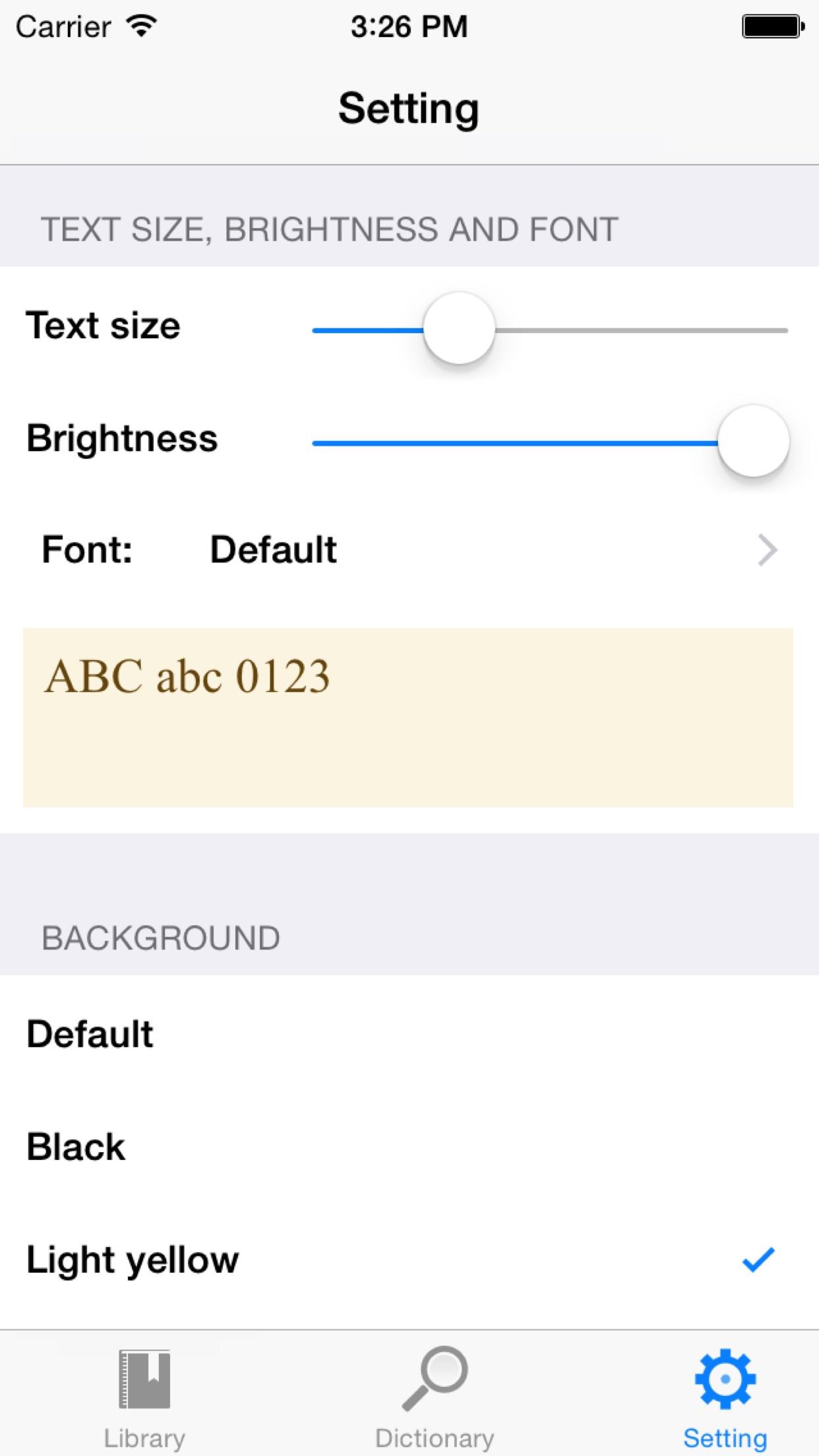 eBookMobi Screenshot