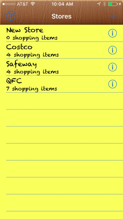 Best Shopping List
