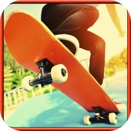 Boy Jump Skateboard Street