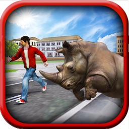 Ultimate Rhino Simulator - Animal Survival games
