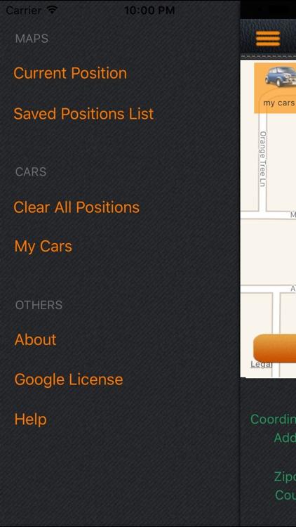 Keep My Car Location screenshot-3
