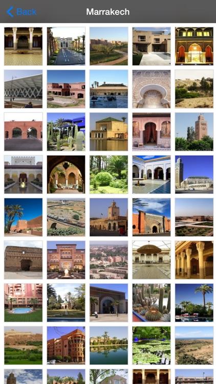 Marrakech Offline Map Travel Guide screenshot-4