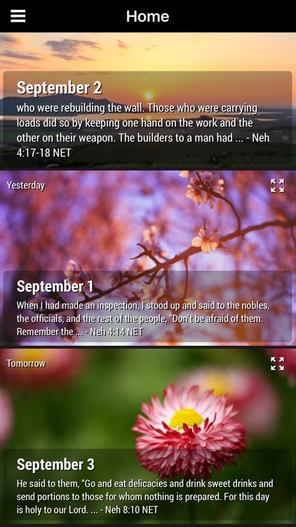 God's Comfort - Bible Devotional screenshot-3
