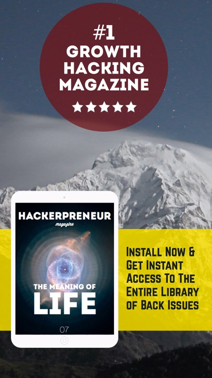 Hackerpreneur Magazine. For startup entrepreneurs