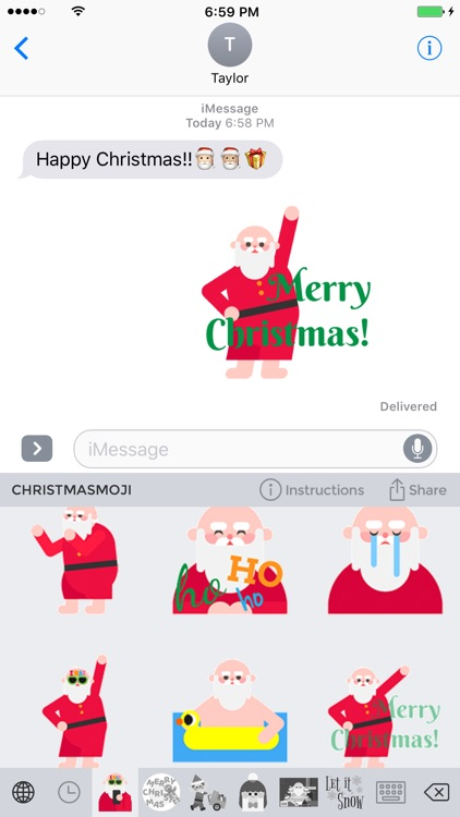 Christmasmoji - Christmas Emojis and Stickers screenshot-0
