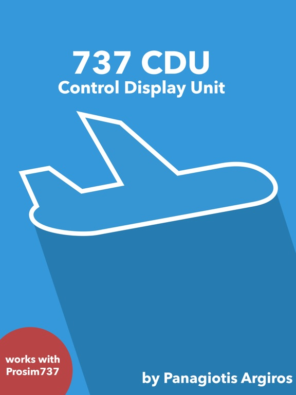 737 CDU - Control Display Unit на iPad