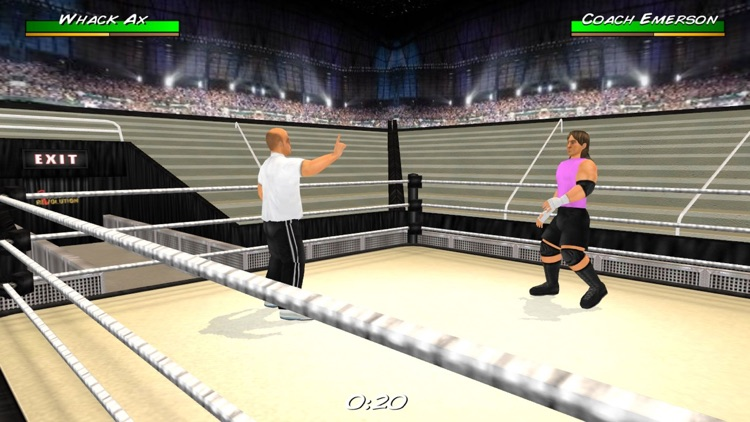 Wrestling Revolution 3D screenshot-4