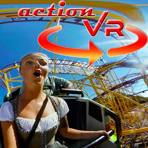 VR Oktoberfest Top Spin Wild Mouse Roller Coaster