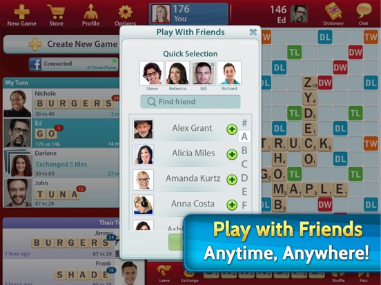 Screenshot #3 for SCRABBLE Premium for iPad