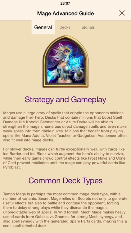 Hearth Guide - tips & tricks for Hearthstone