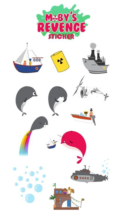 Moby's Revenge Sticker