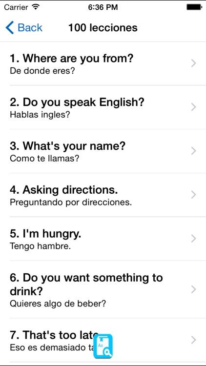 English Study For Spanish - Aprendiendo ingles screenshot-3