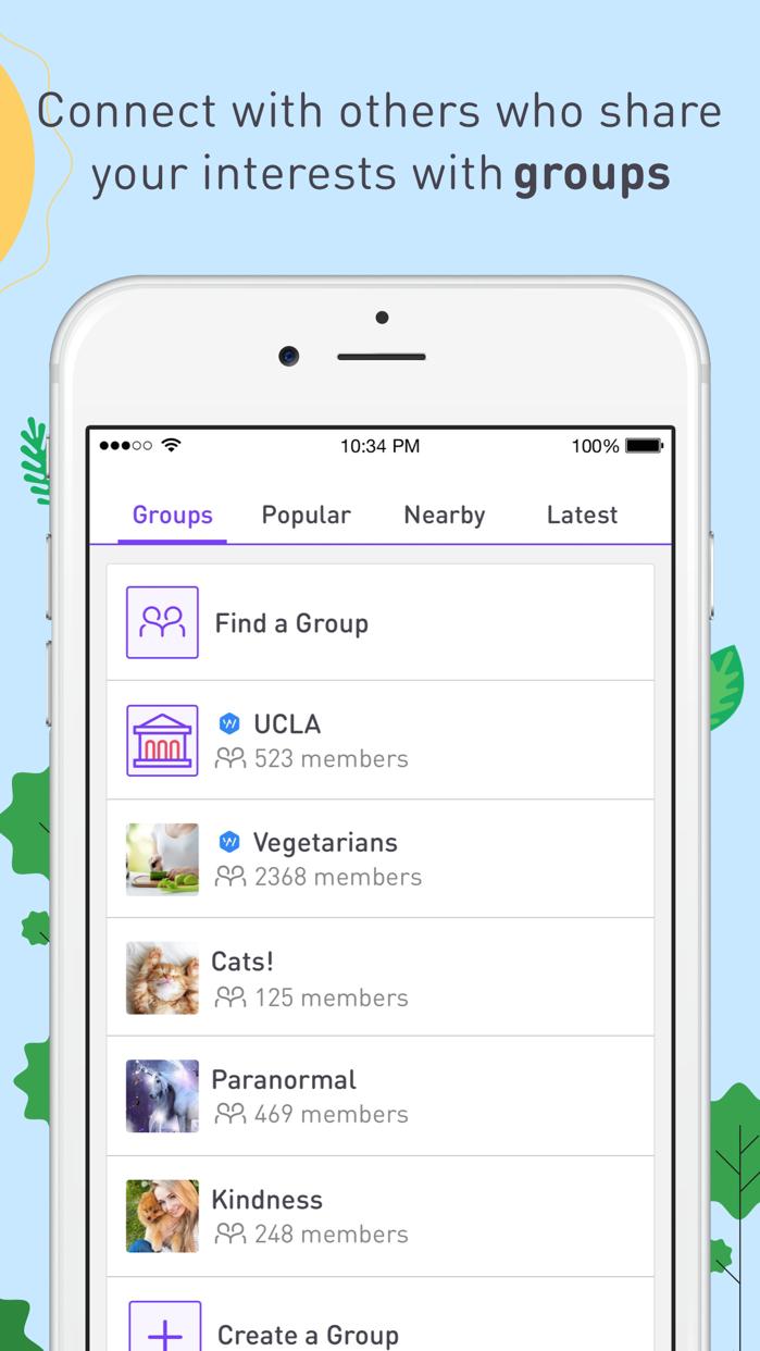 Whisper - Share, Express, Meet Screenshot