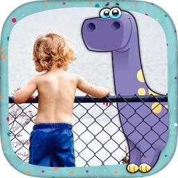 Your photo with dinosaurs - Stickers for photos