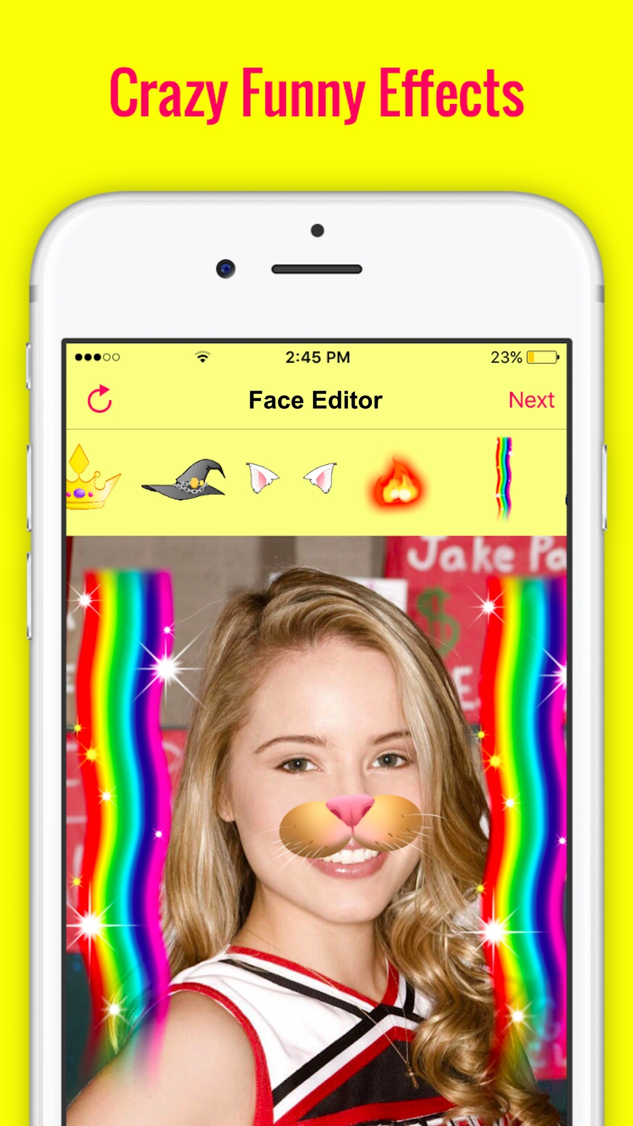 Fun FaceApp Photo Filters with Face Swap Effects Screenshot