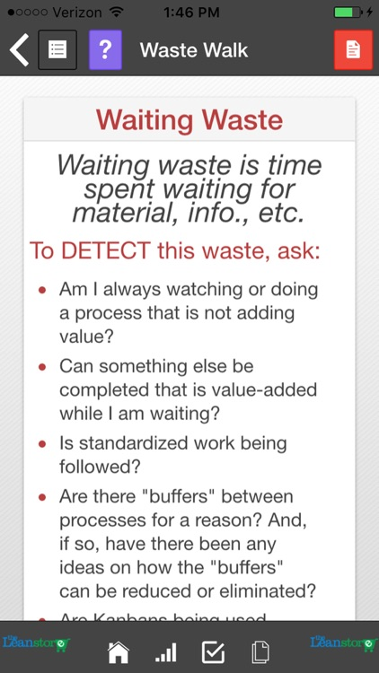 Lean Waste Audit and Waste Walk screenshot-4