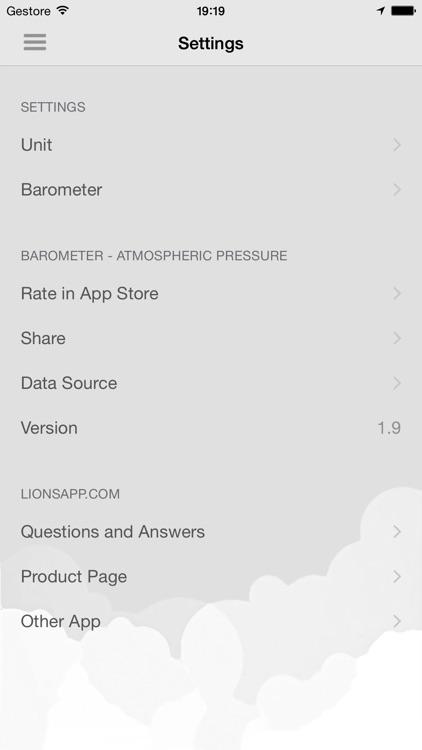 Barometer - Atmospheric pressure screenshot-3