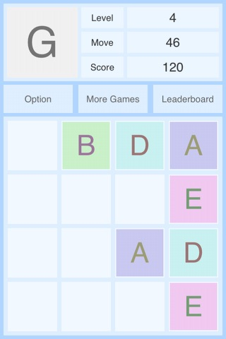 Alphabet 2048 screenshot 3