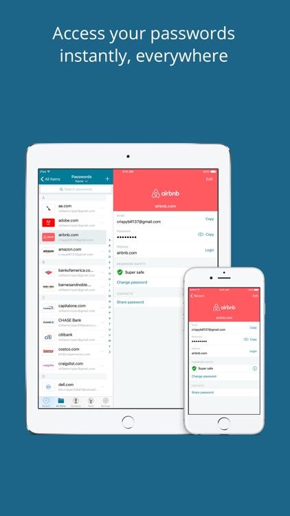 Dashlane Password Manager App & Free Passcode Safe screenshot-3