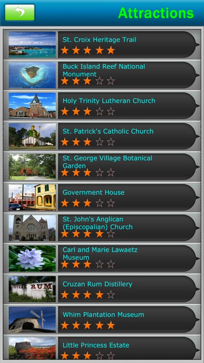 Virgin Islands-USA Offline Map Travel Guide screenshot-2