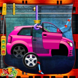 Car Factory- Auto vehicle building & mechanic game