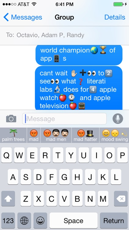 Keymoji Premium Emoji Keyboard screenshot-4