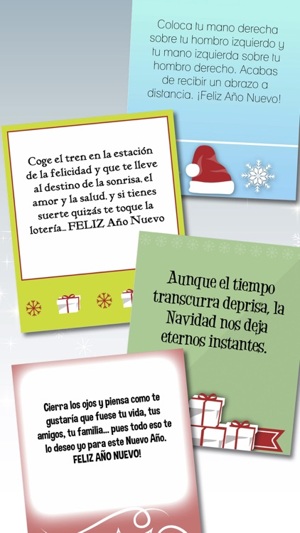 Xmas & New Year greeting messages in Spanish - Pro screenshot-4
