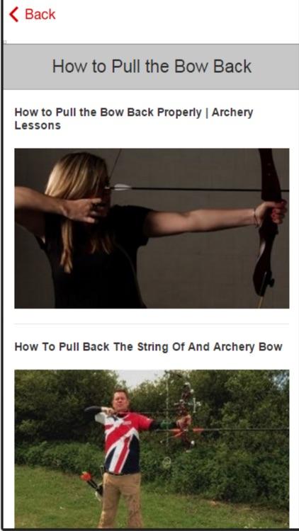 Archery Tutorial - Beginner Archery Lessons screenshot-3