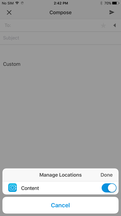 Screenshot for Content - Workspace ONE in Austria App Store