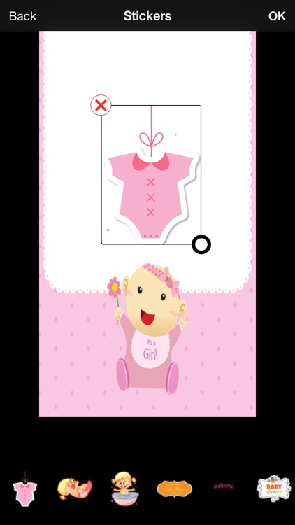 Baby Shower Invitation Cards Maker screenshot-0