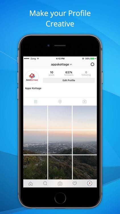 Full Display Profile w/o Crop-Share on Instagram screenshot-3