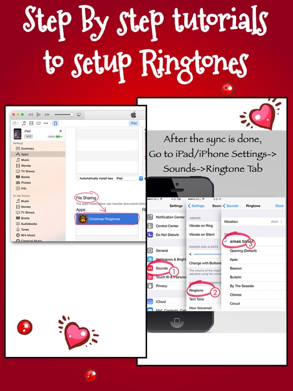free screenshot 3 for christmas ringtones sounds