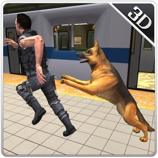 Police Subway Security Dog – City crime chase sim