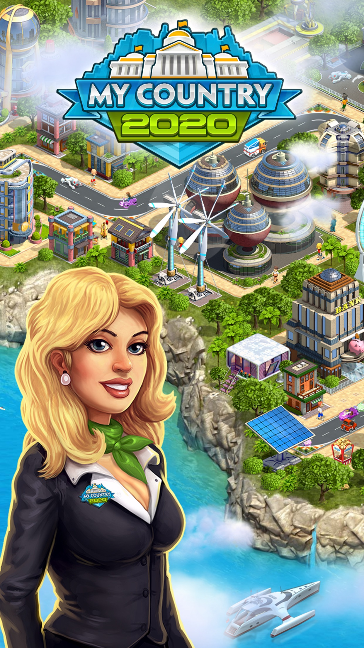 2020: My Country - Build your future city Screenshot